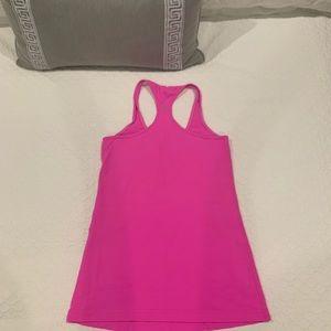 Hot pink lululemon Racerback